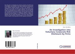 An Investigation into Voluntary Corporate Risk Disclosure by Firms