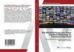 Die Werbewirkung von Video Content Marketing im...