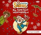 Das Sams feiert Weihnachten, 3 Audio-CDs (Mängelexemplar)