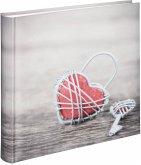 Hama Rustico Metal Heart 30x30 100 weiße Seiten 2542