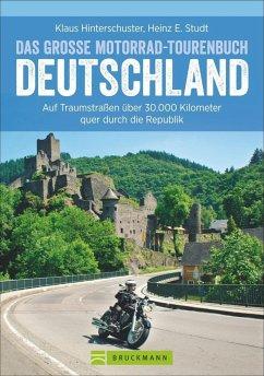 Das große Motorrad-Tourenbuch Deutschland (Mäng...