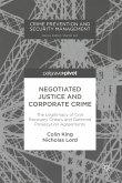 Negotiated Justice and Corporate Crime (eBook, PDF)