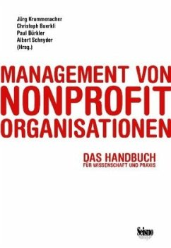 Management von Nonprofit-Organisationen - Jürg Krummenacher, Christoph Buerkli, Paul Bürkler, Albert Schnyder