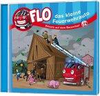 Flo, das kleine Feuerwehrauto - Einsatz auf dem Bauernhof, 1 Audio-CD