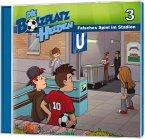 Die Bolzplatzhelden - Falsches Spiel im Stadion, 1 Audio-CD