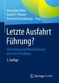 Letzte Ausfahrt Führung? (eBook, PDF)