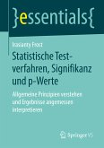 Statistische Testverfahren, Signifikanz und p-Werte (eBook, PDF)