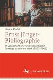 Ernst Jünger-Bibliographie. Fortsetzung (eBook, PDF)
