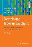 Formeln und Tabellen Bauphysik (eBook, PDF)