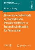 Eine erweiterte Methode zur Korrektur von Interferenzeffekten in Freistrahlwindkanälen für Automobile (eBook, PDF)