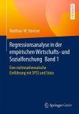 Regressionsanalyse in der empirischen Wirtschafts- und Sozialforschung Band 1 (eBook, PDF)