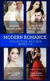 Modern Romance July 2018 Books 1-4 Collection: Crowned for the Sheikh's Baby / The Secret the Italian Claims / The Bride's Baby of Shame / Tycoon's Forbidden Cinderella (eBook, ePUB)