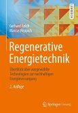 Regenerative Energietechnik (eBook, PDF)