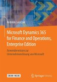 Microsoft Dynamics 365 for Finance and Operations, Enterprise Edition (eBook, PDF)
