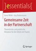 Gemeinsame Zeit in der Partnerschaft (eBook, PDF)