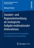 Standort- und Regionalentwicklung als strategische Aufgabe multinationaler Unternehmen (eBook, PDF)