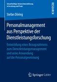Personalmanagement aus Perspektive der Dienstleistungsforschung (eBook, PDF)