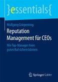 Reputation Management für CEOs (eBook, PDF)