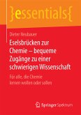 Eselsbrücken zur Chemie – bequeme Zugänge zu einer schwierigen Wissenschaft (eBook, PDF)