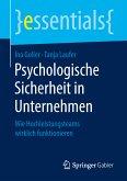 Psychologische Sicherheit in Unternehmen (eBook, PDF)