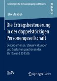 Die Ertragsbesteuerung in der doppelstöckigen Personengesellschaft (eBook, PDF)