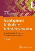Grundlagen und Methodik der Mehrkörpersimulation (eBook, PDF)