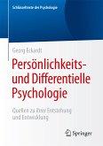 Persönlichkeits- und Differentielle Psychologie (eBook, PDF)