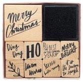 Stempelset, Jolly Christmas, Schrift