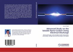 Advanced Study on the Soluble Nano-Carbon Using Electrical Discharge