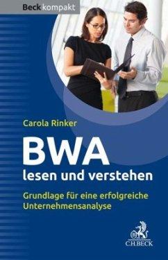 BWA lesen und verstehen - Rinker, Carola