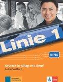 Linie 1 B2. Lehrerhandbuch mit 4 Audio-CDs und DVD-Video mit Videotrainer