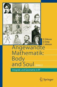 Angewandte Mathematik: Body and Soul (eBook, PDF) - Eriksson, Kenneth; Estep, Donald; Johnson, Claes