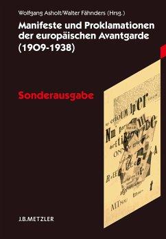 Manifeste und Proklamationen der europäischen Avantgarde (1909–1938) (eBook, PDF)