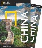 NATIONAL GEOGRAPHIC Reiseführer China mit Maxi-Faltkarte (Mängelexemplar)