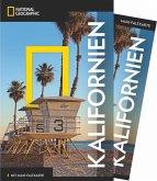 National Geographic Traveler Kalifornien mit Maxi-Faltkarte (Mängelexemplar)