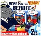 Benjamin Blümchen - Berufe-Box - als Pilot/als Busfahrer