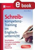 Schreibkompetenz-Training im Englischunterricht (eBook, PDF)