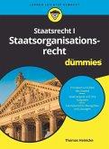 Staatsrecht I Staatsorganisationsrecht für Dummies (eBook, ePUB)