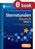 Sternstunden Deutsch - Klasse 4 (eBook, PDF)
