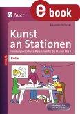 Kunst an Stationen Spezial Farbe (eBook, PDF)