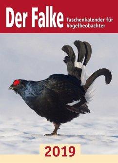 Der Falke-Taschenkalender für Vogelbeobachter 2019