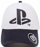 Baseball Cap, Sony PlayStation Logo, Seamless Cap, Kappe, One Size,weiss-schwarz
