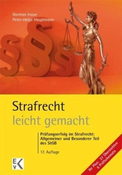 Strafrecht - leicht gemacht® - Inoue, Norman; Hauptmann, Peter-Helge