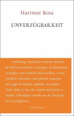 Unverfügbarkeit (eBook, ePUB) - Rosa, Hartmut