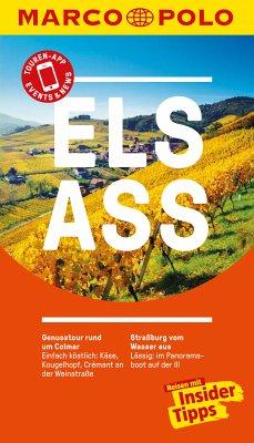 MARCO POLO Reiseführer Elsass (eBook, PDF) - Cames, Pascal