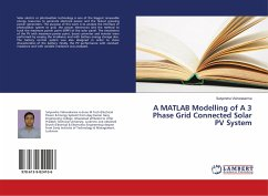 A MATLAB Modelling of A 3 Phase Grid Connected Solar PV System