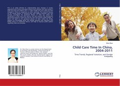 Child Care Time In China, 2004-2011