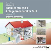 Fachkenntnisse 1 Anlagenmechaniker SHK, Lernfelder 5-8, Arbeitsheft mit eingetragenen Lösungen, 1 CD-ROM