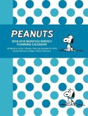Peanuts 2018-2019 Monthly/Weekly Planning Calendar