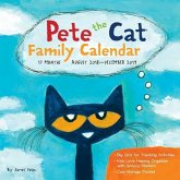Pete the Cat Family Organiser 2018-2019 17-Month Square Wall Calendar